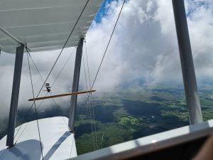 biplan faire un vol